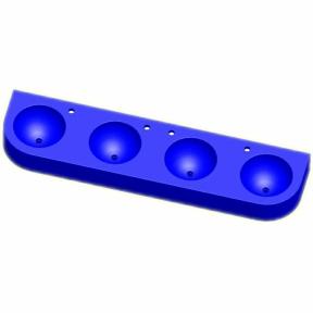 Kita-Reihenwaschtisch RAUPE -4-BLAU
