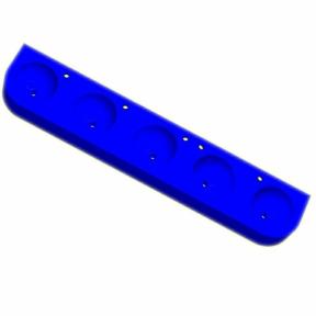 Kita-Reihenwaschtisch RAUPE -5-BLAU