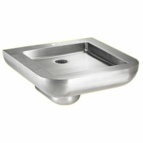 Behinderten-Waschtisch BWT-2-V-HL gemäß DIN 18040-1