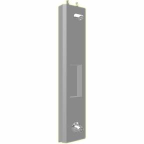 Duschelment Tradi Stainless Steel HoVent-DE-H