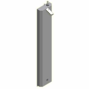 Duschelment Tradi Stainless Steel HoPi-DE-S-O