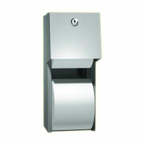 Doppel-WC-Papierrollenhalter-TRADi-AP