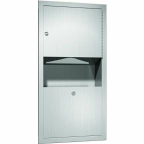 Papierhandtuchspender-Abfallbehälter-Kombi-TRADI-475-8-UP
