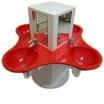 KITA-Waschtischanlage KLEEBLATT-RW-650