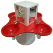 KITA-Waschtischanlage KLEEBLATT-BW-650