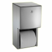 Doppel-WC-Papierrollenhalter-PROFI-AP Aufputzmontage