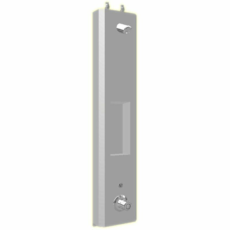 Duschelment Tradi Stainless Steel HoPi-Thermix-DE-H
