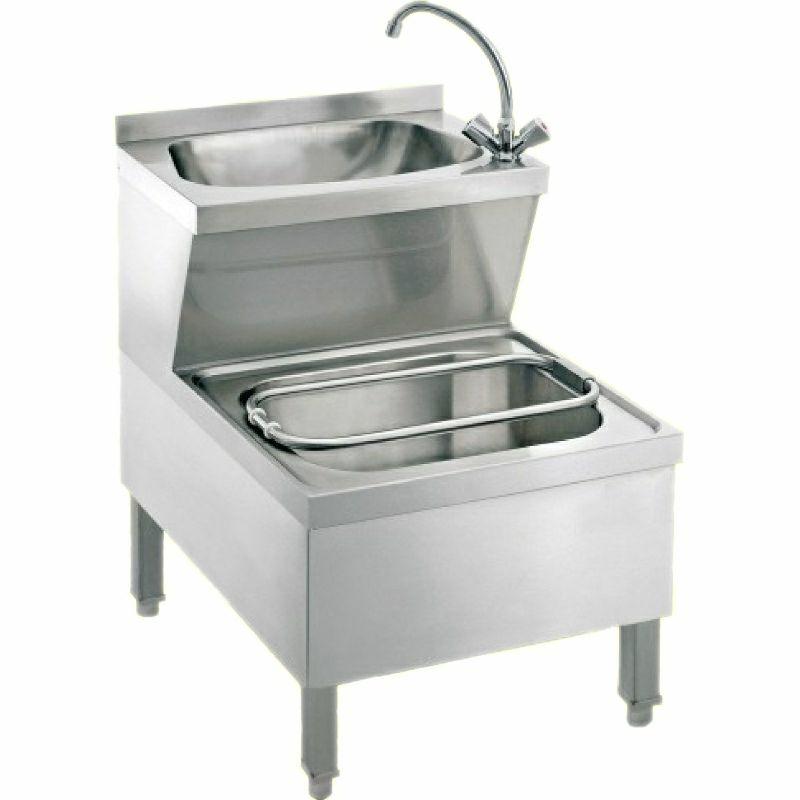 Handwasch- Ausgussbeckenkombination HoWAK-UB6-MB