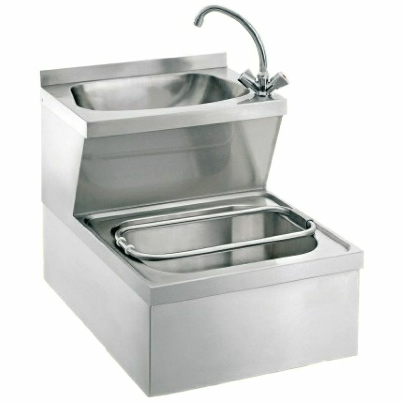 Handwasch- Ausgussbeckenkombination HoWAK-UW7-MB