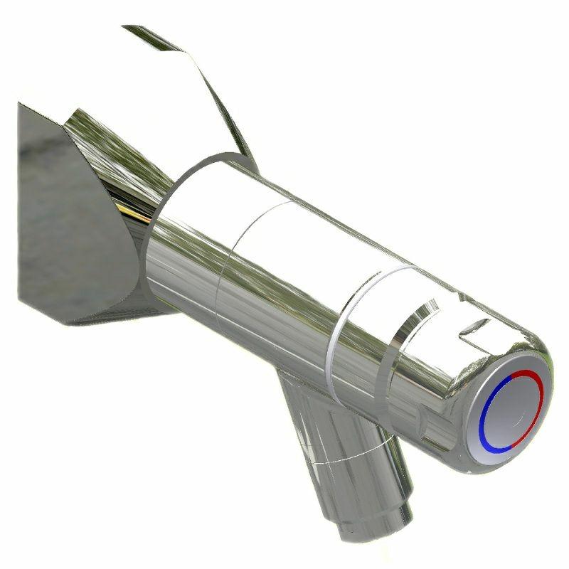 SaniSystem Wand-Selbstschlussmischer Tradi HoMix-W40-AP-130