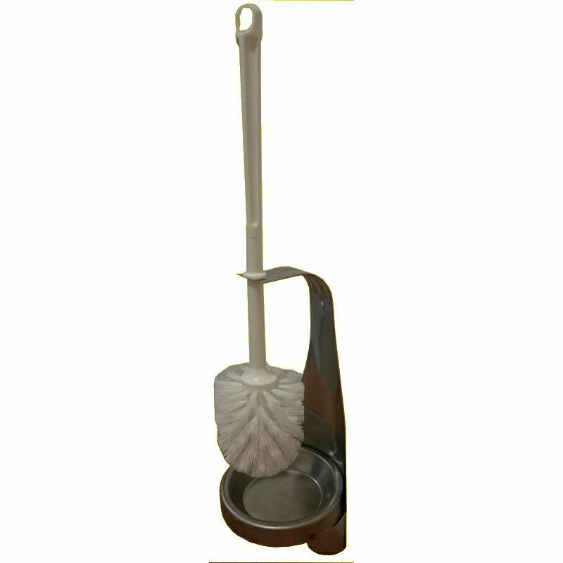 G&L WC- Bürstenhalter Only, aus Edelstahl mit Bürste,